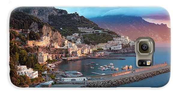 Amalfi Sunrise Galaxy S6 Case by Brian Jannsen