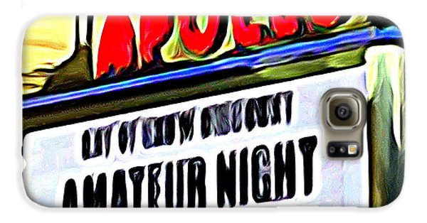 Amateur Night Galaxy S6 Case by Ed Weidman