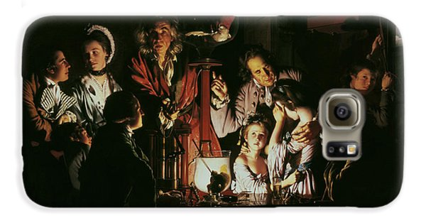An Experiment On A Bird In The Air Pump Galaxy S6 Case by Joseph Wright of Derby