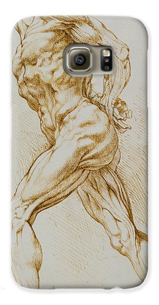 Anatomical Study Galaxy S6 Case by Rubens