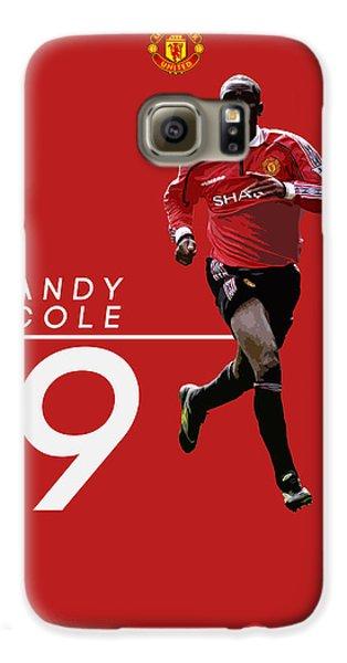 Andy Cole Galaxy S6 Case by Semih Yurdabak