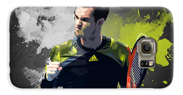 Andy Murray Galaxy S6 Case by Semih Yurdabak