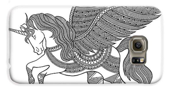 Animal Unicorn Galaxy S6 Case by Neeti Goswami