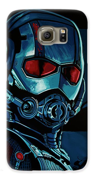 Ant Man Painting Galaxy S6 Case by Paul Meijering