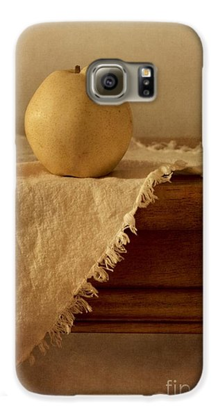 Apple Pear On A Table Galaxy S6 Case by Priska Wettstein