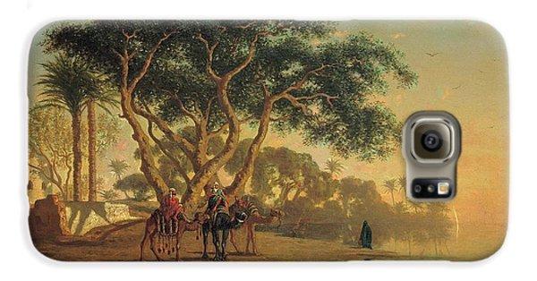Arab Oasis Galaxy S6 Case by Narcisse Berchere