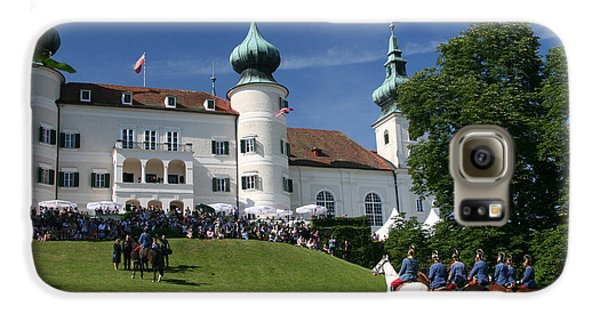 Galaxy S6 Case featuring the photograph Artstetten Castle In June by Travel Pics