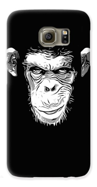 Evil Monkey Galaxy S6 Case by Nicklas Gustafsson