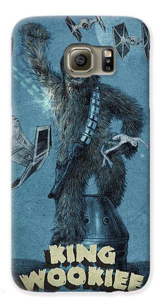 King Wookiee Galaxy S6 Case by Eric Fan