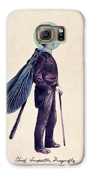 Inspector Dragonfly Galaxy S6 Case by Eric Fan