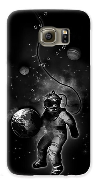 Deep Sea Space Diver Galaxy S6 Case by Nicklas Gustafsson