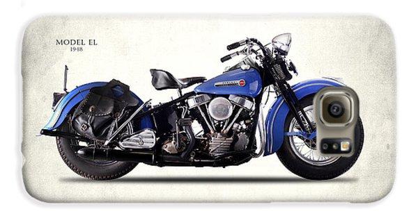 Harley-davidson El 1948 Galaxy S6 Case by Mark Rogan