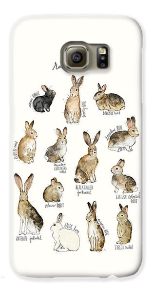 Rabbits And Hares Galaxy S6 Case by Amy Hamilton