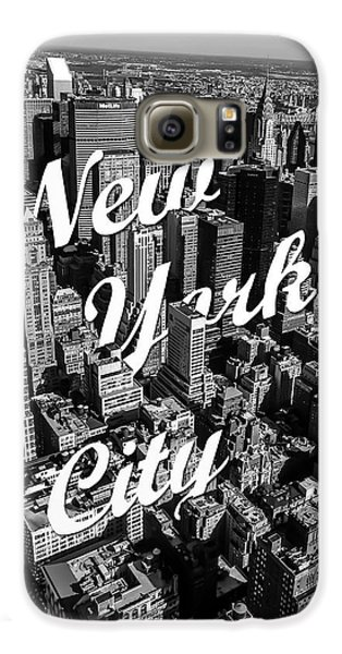 New York City Galaxy S6 Case by Nicklas Gustafsson