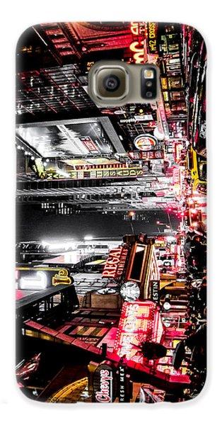 New York City Night II Galaxy S6 Case by Nicklas Gustafsson