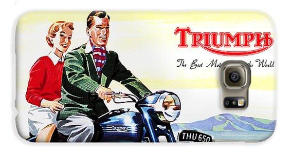 Triumph 1953 Galaxy S6 Case by Mark Rogan