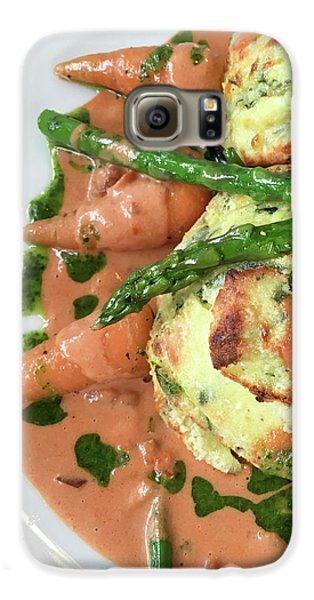 Asparagus Dish Galaxy S6 Case by Tom Gowanlock