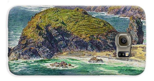 Asparagus Island Galaxy S6 Case by William Holman Hunt