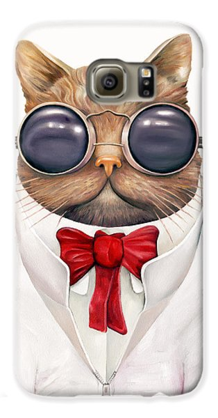 Astro Cat Galaxy S6 Case by Animal Crew