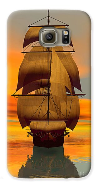 At Full Sail Galaxy Case by Sandra Bauser Digital Art