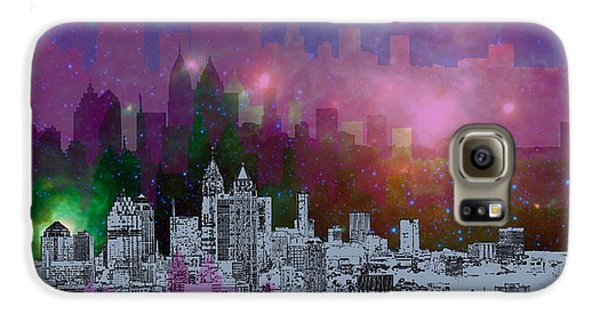 Atlanta Skyline 7 Galaxy S6 Case by Alberto RuiZ