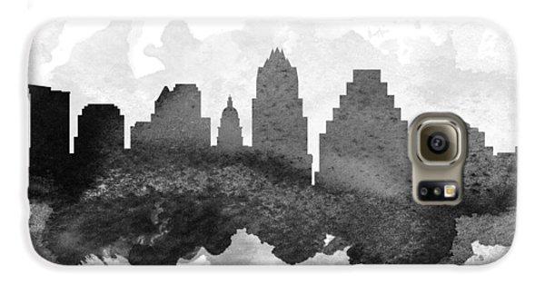 Austin Cityscape 11 Galaxy S6 Case by Aged Pixel
