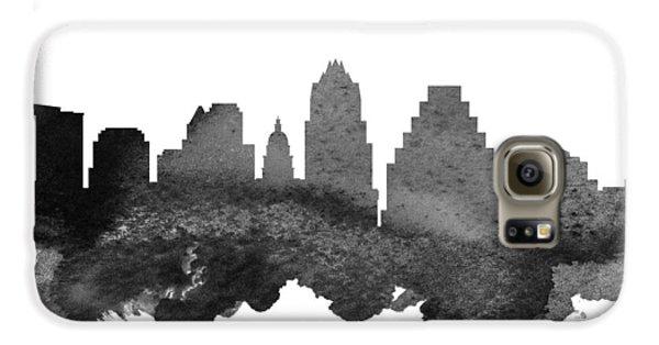 Austin Texas Skyline 18 Galaxy S6 Case by Aged Pixel