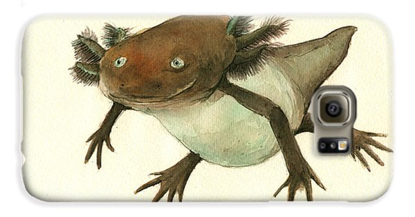 Axolotl Galaxy S6 Case by Juan Bosco