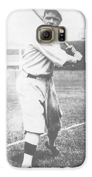 Babe Ruth Galaxy S6 Case by American School
