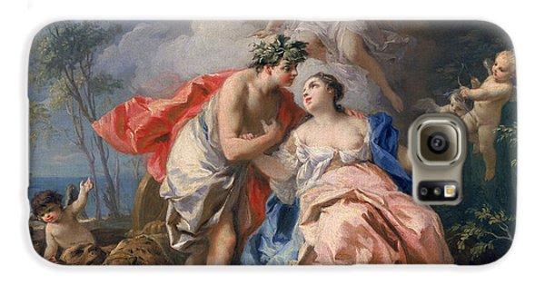 Bacchus And Ariadne Galaxy S6 Case by Jacopo Amigoni