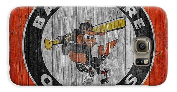 Baltimore Orioles Graphic Barn Door Galaxy S6 Case by Dan Sproul
