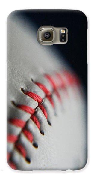 Baseball Fan Galaxy S6 Case by Rachelle Johnston