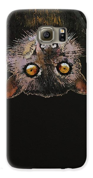Bat Galaxy S6 Case by Michael Creese