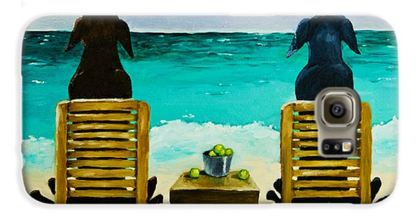 Beach Bums Galaxy S6 Case by Roger Wedegis