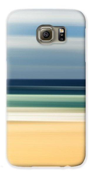 Beach Pastels Galaxy S6 Case by Az Jackson