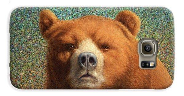 Bearish Galaxy S6 Case by James W Johnson