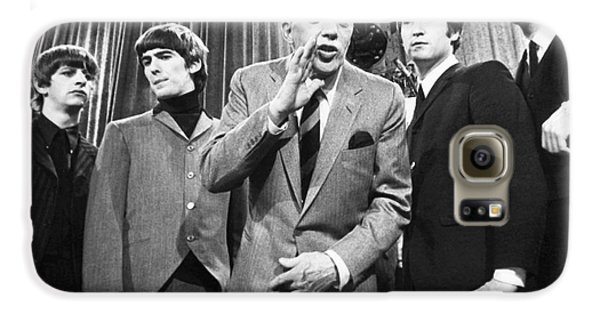 Beatles And Ed Sullivan Galaxy S6 Case by Granger