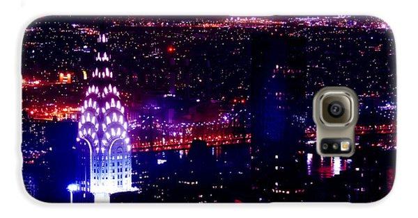 Beautiful Manhattan Skyline Galaxy S6 Case by Az Jackson