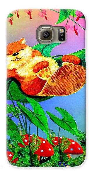 Beaver Bedtime Galaxy S6 Case by Hanne Lore Koehler