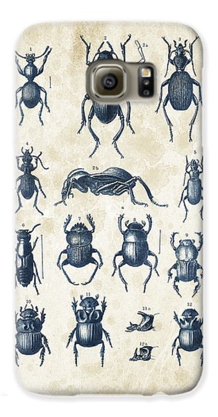 Beetles - 1897 - 01 Galaxy S6 Case by Aged Pixel