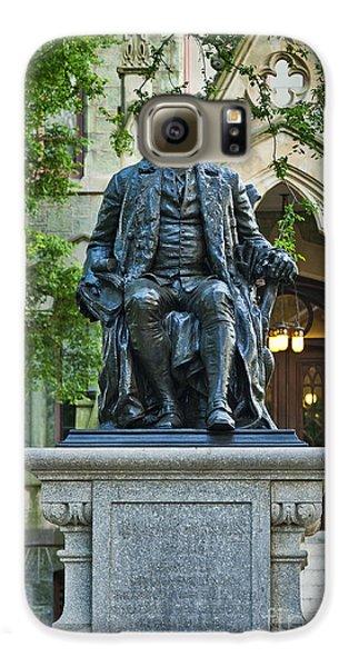 Ben Franklin At The University Of Pennsylvania Galaxy S6 Case by John Greim