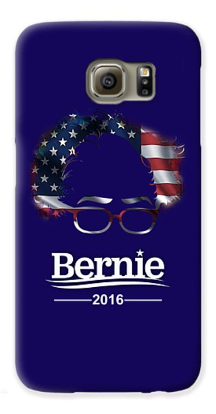 Bernie Sanders 2016 Galaxy S6 Case by Marvin Blaine
