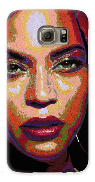 Beyonce Galaxy S6 Case by Maria Arango