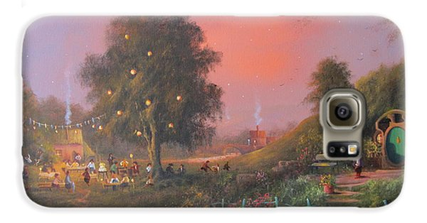 Bilbo's Eleventy-first Birthday Party Galaxy S6 Case by Joe  Gilronan
