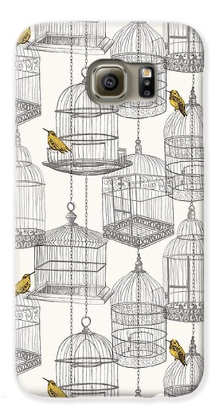 Birdcages Galaxy S6 Case by Stephanie Davies