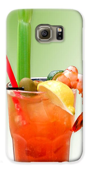 Bloody Mary Hand-crafted Galaxy S6 Case by Christine Till