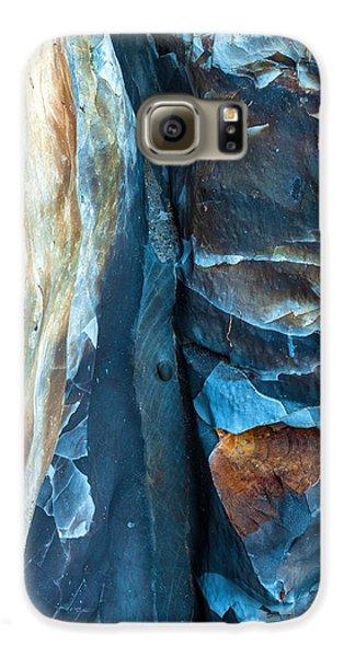 blue Pattern 2 Galaxy S6 Case by Jonathan Nguyen