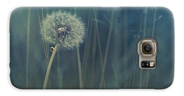 Blue Tinted Galaxy S6 Case by Priska Wettstein
