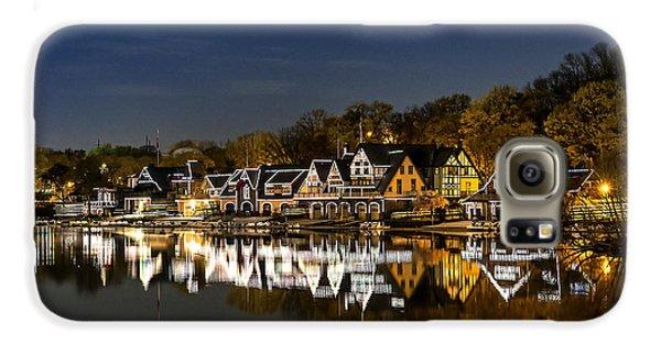 Boathouse Row Galaxy S6 Case by John Greim