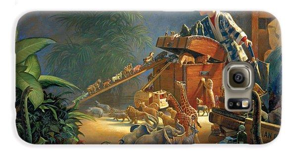 Bon Voyage Galaxy S6 Case by Greg Olsen